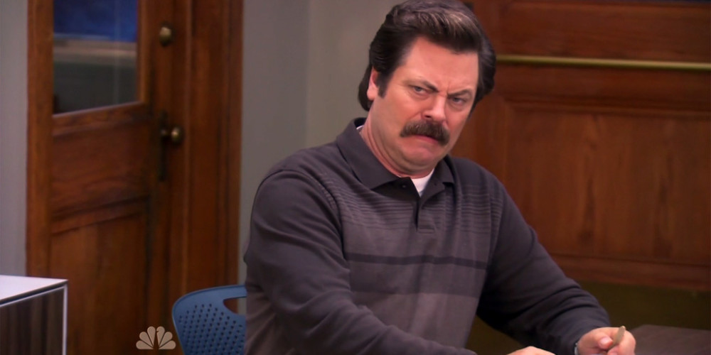 Ron Swanson We Didn't Start the Fire picture7