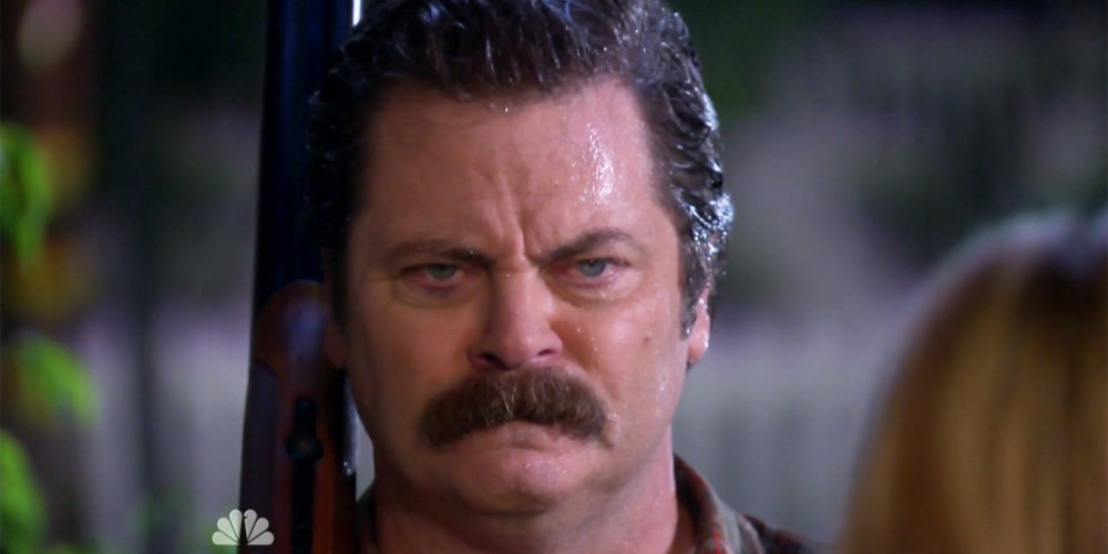 Ron Swanson destroyed the robot picture3