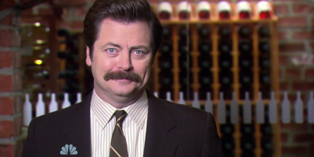 Why does Ron Swanson love weddings