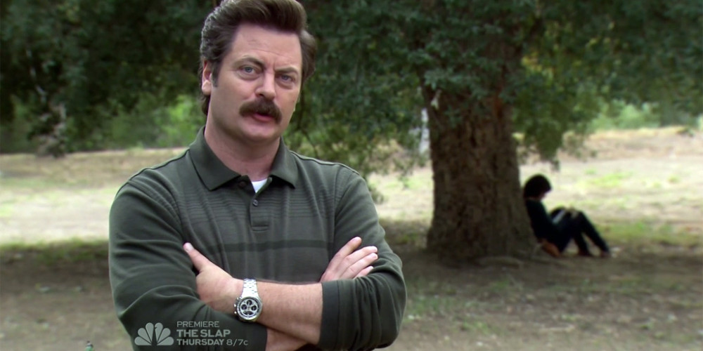Ron Swanson felt a certain kinship with April
