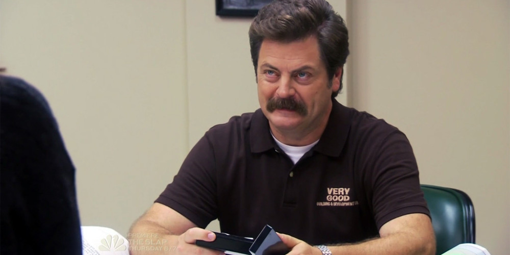 Ron Swanson loves puzzles picture1