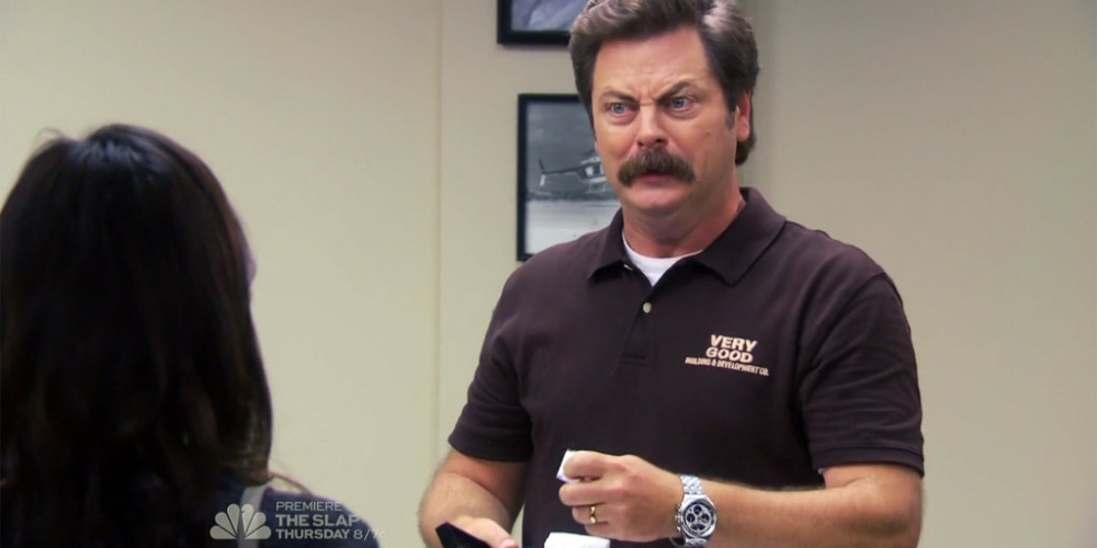 Ron Swanson loves puzzles picture2