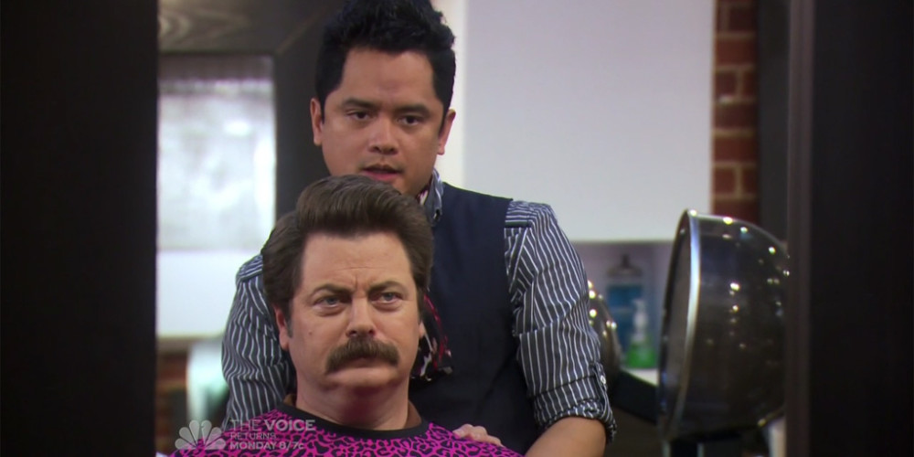 Ron Swanson and Typhoon Euro trash picture3