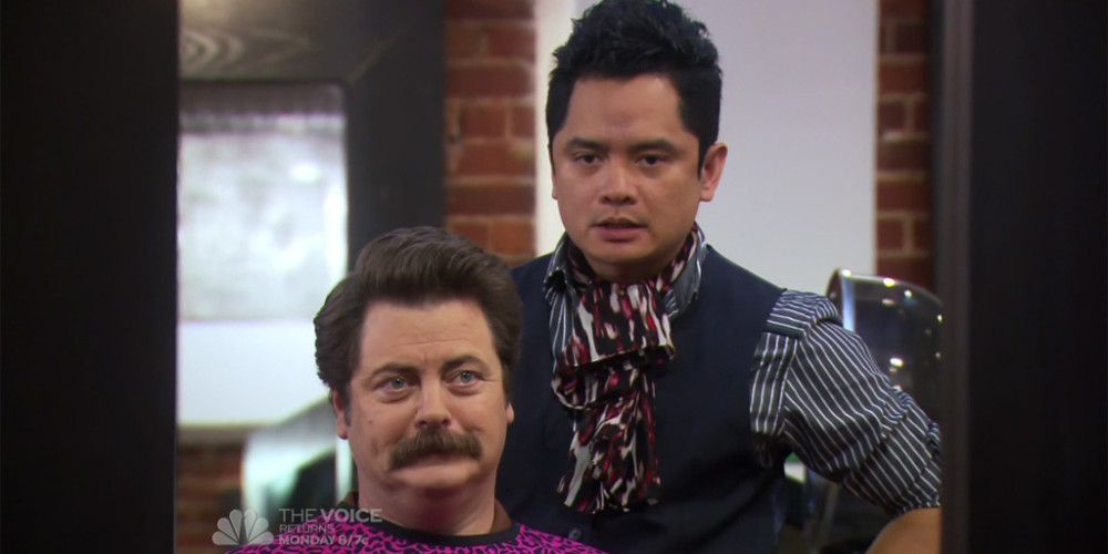 Ron Swanson and Typhoon Euro trash picture4