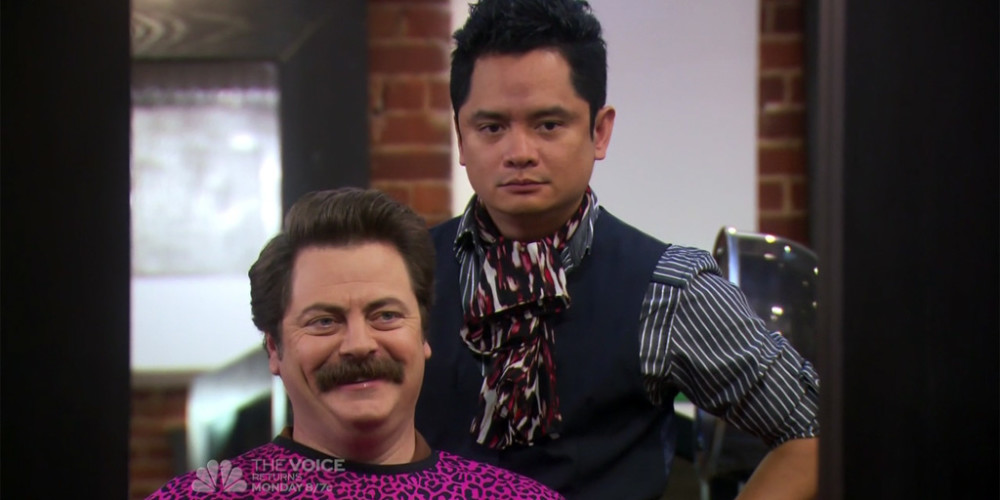 Ron Swanson and Typhoon Euro trash picture5
