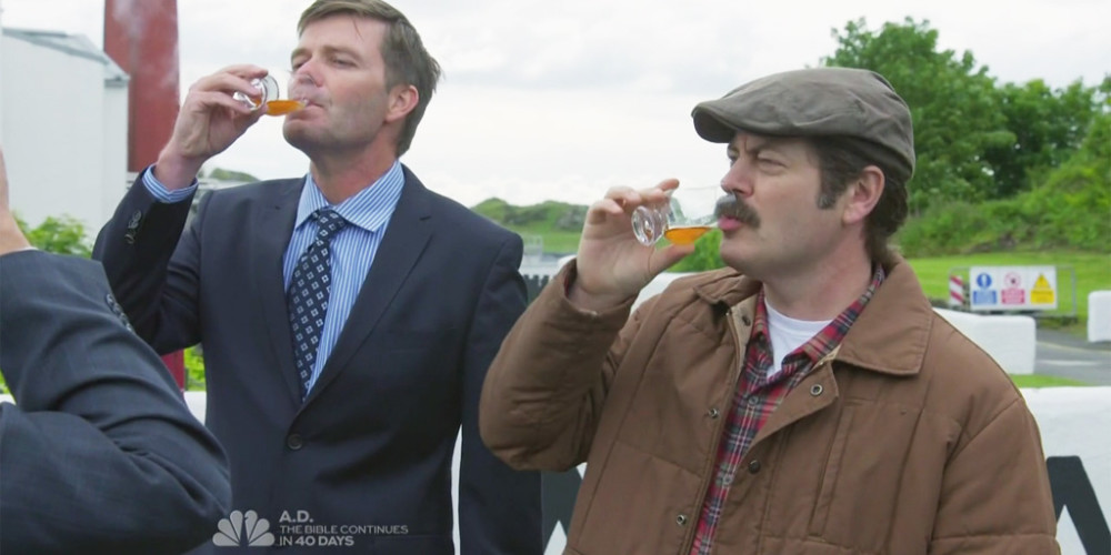 Ron Swanson owns fifty one percent of the Lagavulin Distillery picture3