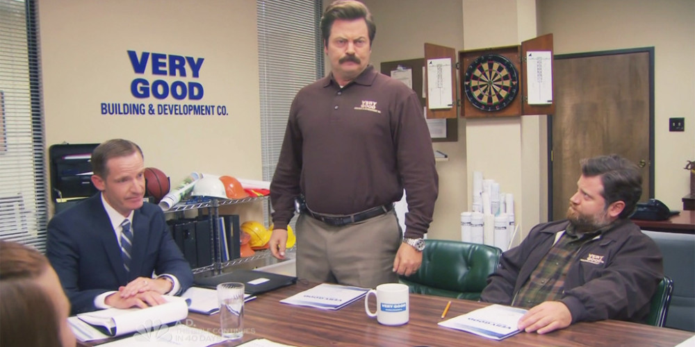 Ron Swanson resigns from Very Good Building & Development Co. picture 1