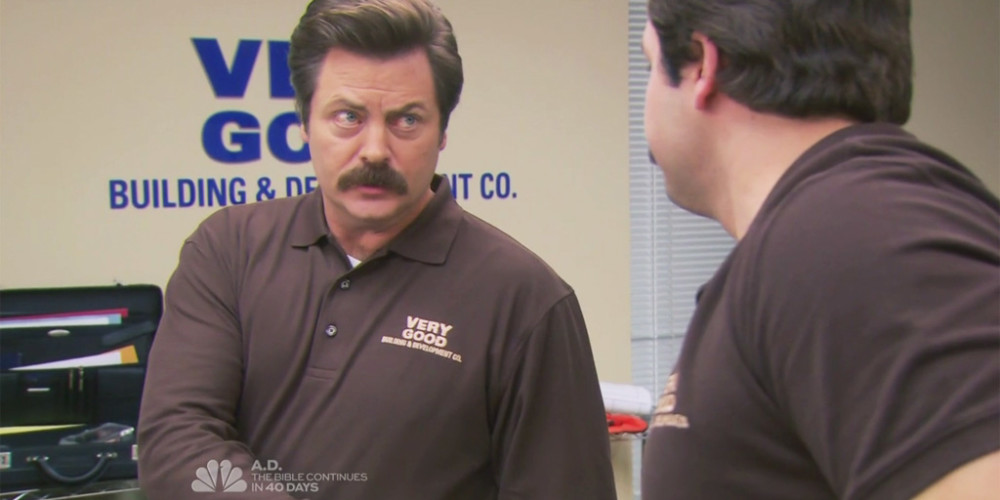 Ron Swanson resigns from Very Good Building & Development Co. picture2