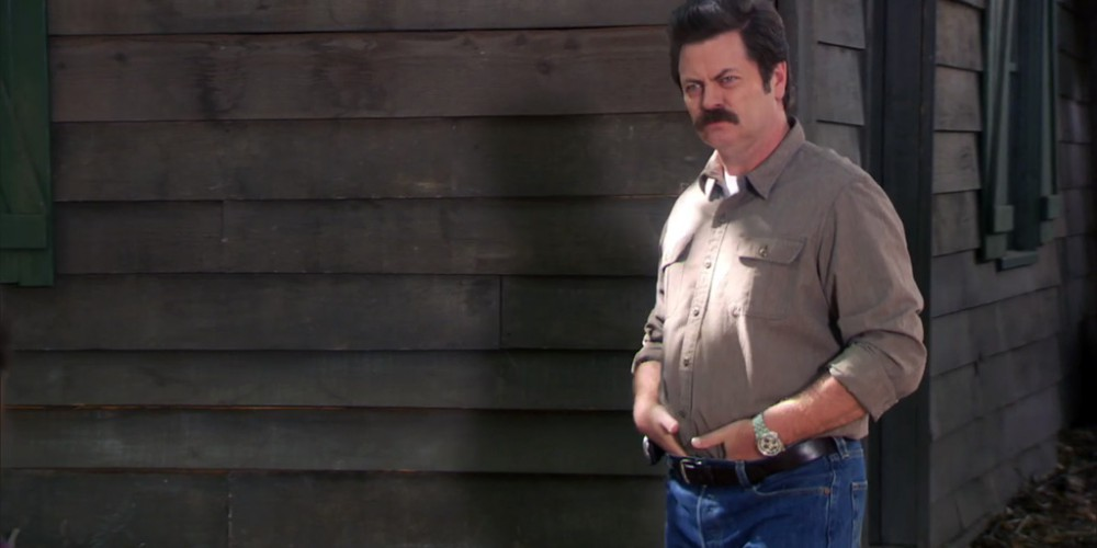 Extras: Ron Swanson Solitude of Nature