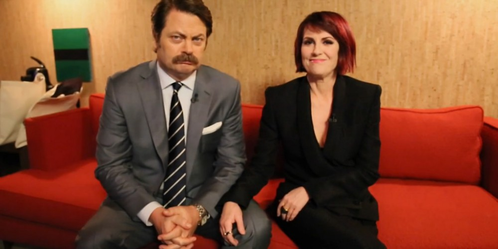 Nick Offerman & Megan Mullally Answer Your Relationship Questions