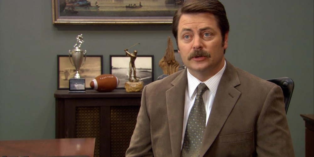 Ron Swanson on perfect government
