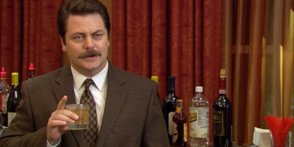 Ron Swanson will give a speech of facts