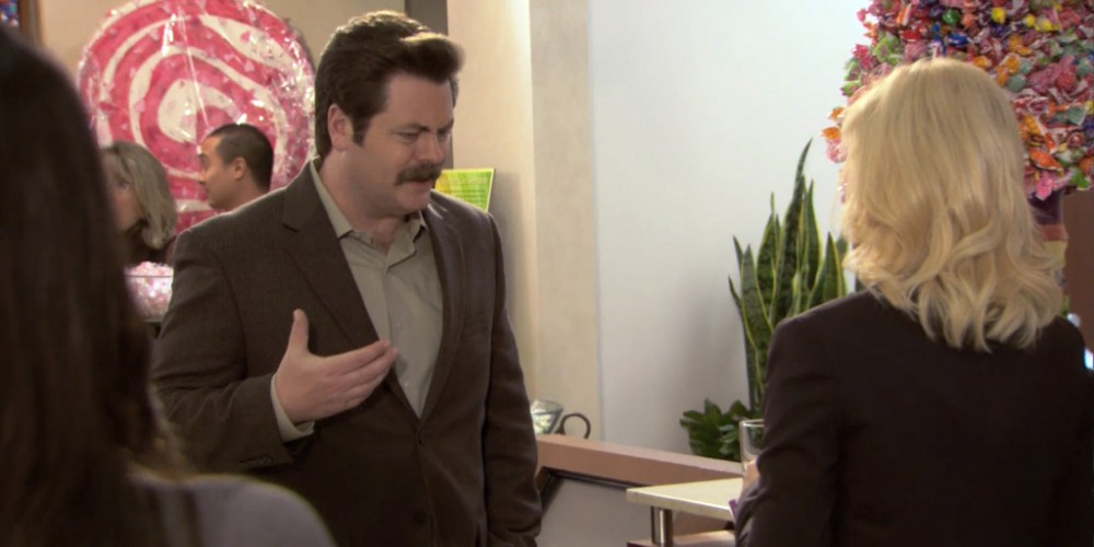 Ron Swanson alcohol tolerance.