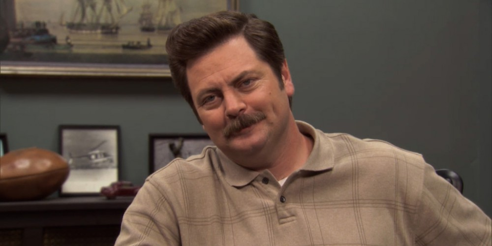 Ron Swanson is a re-gifter.