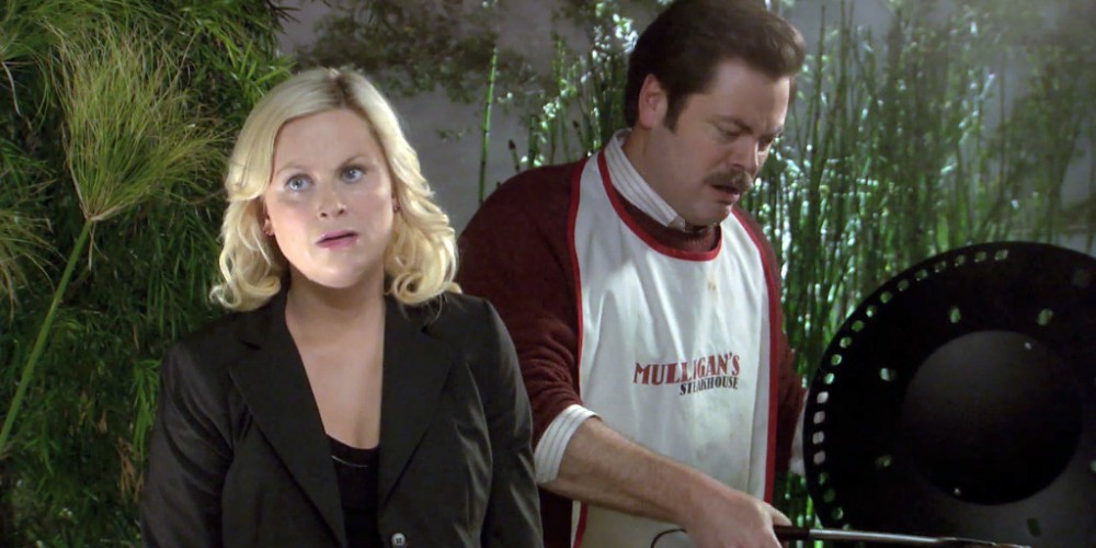 Ron Swanson is horrified by portabello mushrooms picture 4