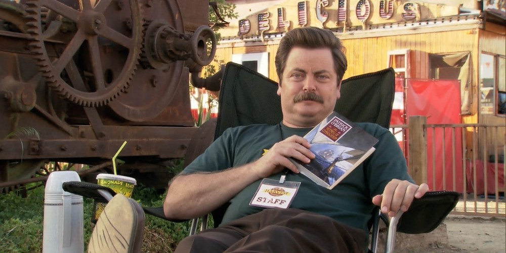Advantages of being Leslie Knope's boss