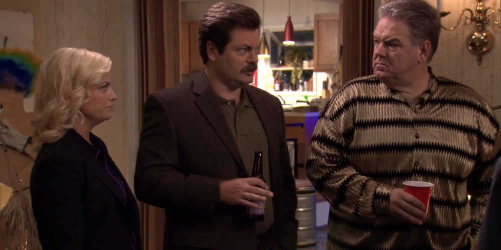 Don't deprive Ron Swanson of cake