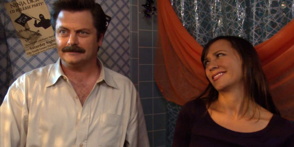 Ron Swanson loves that sense of pride from hard work
