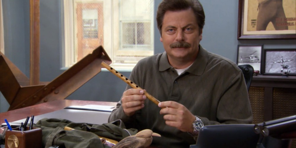 Another one of Ron's entrepreneurial ventures, wood flutes.