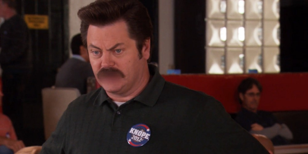 Ron Swanson grows more frustrated with Tom's bowling picture 3