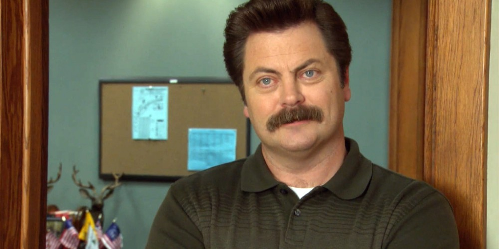 Ron Swanson slaughtered both pet calves