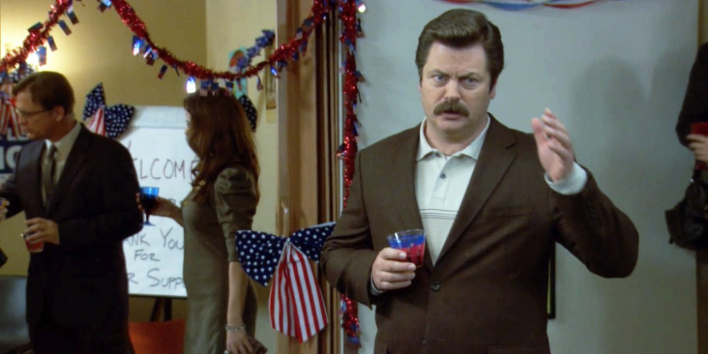 Ron Swanson wants you to watch the debate
