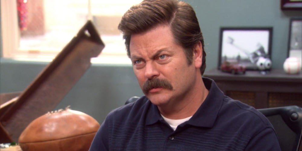 Ron Swanson is very honored by this nomination