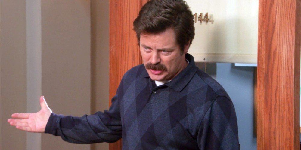 Ron Swanson is out of activities for the girls picture1