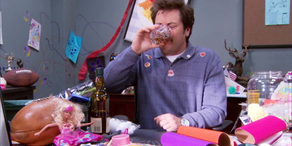 Ron Swanson the babysitter picture7