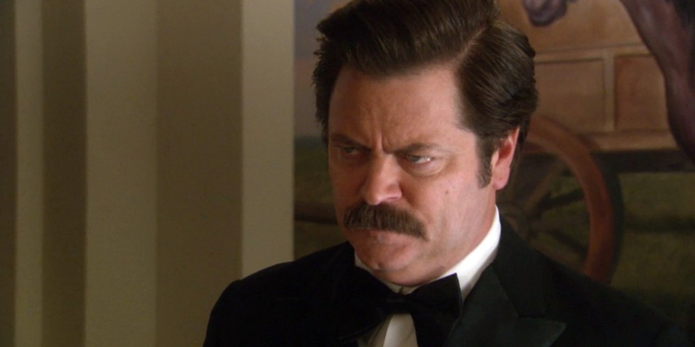 Ron Swanson offers some rare kindness and emotion