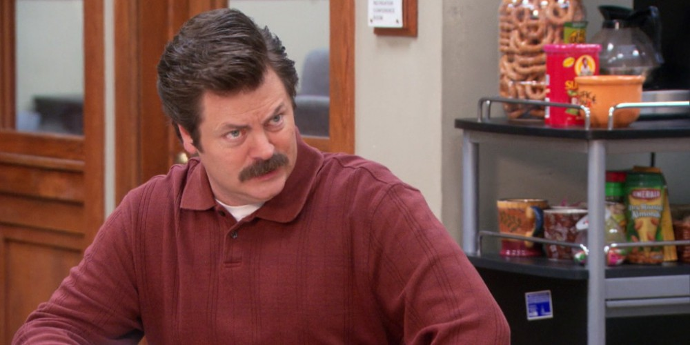 Ron Swanson is prepared to pay his court settlement