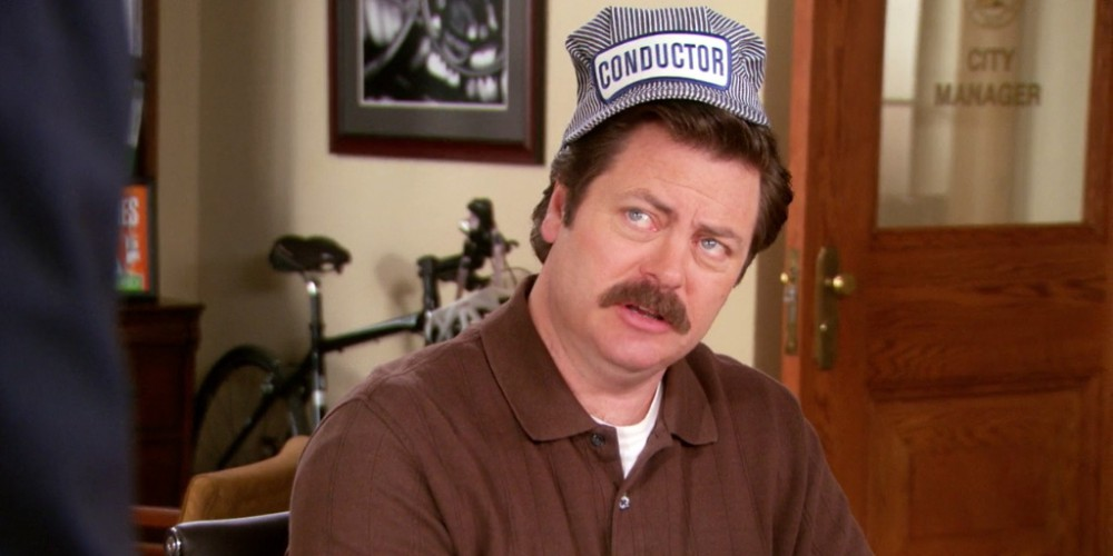 Ron Swanson understands the only three ways to motivate people.