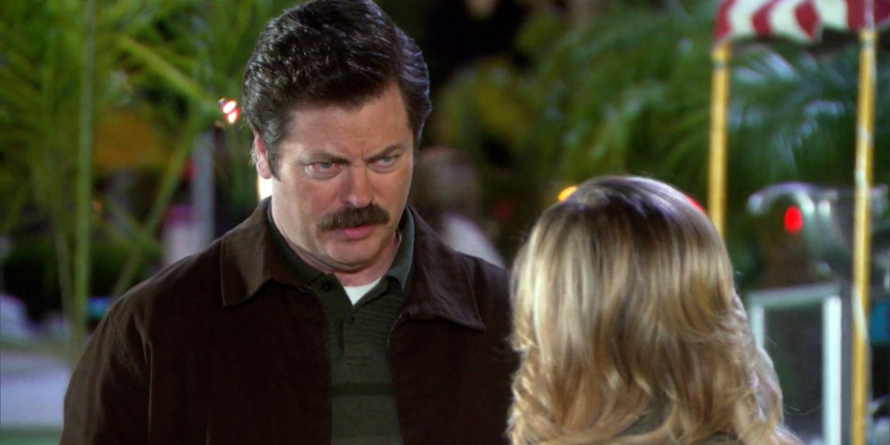 According to Ron Swanson Swanson, tanking is bad as lying