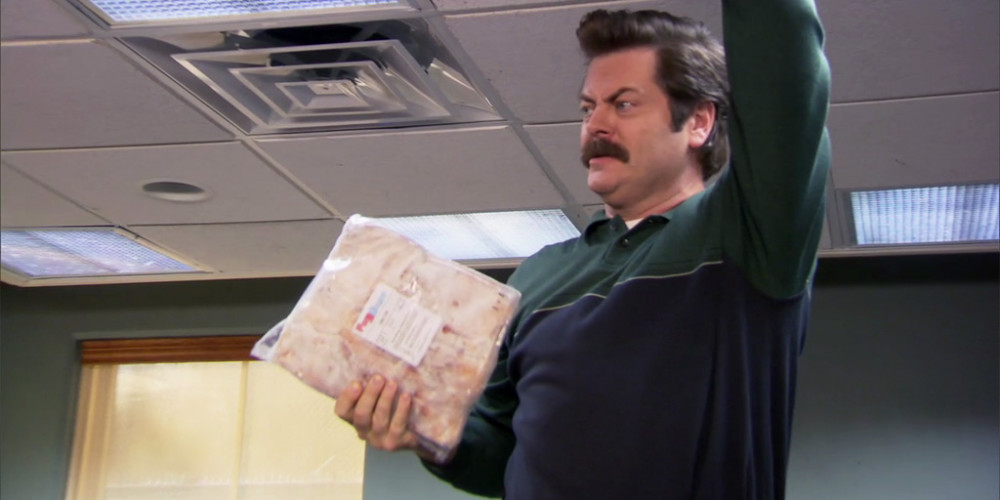 Where Ron Swanson hides his bacon picture3