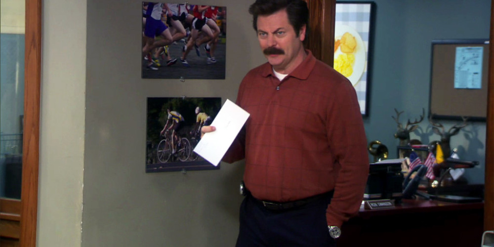 Ron Swanson's letter to Canada - Dear Canada, F*ck You