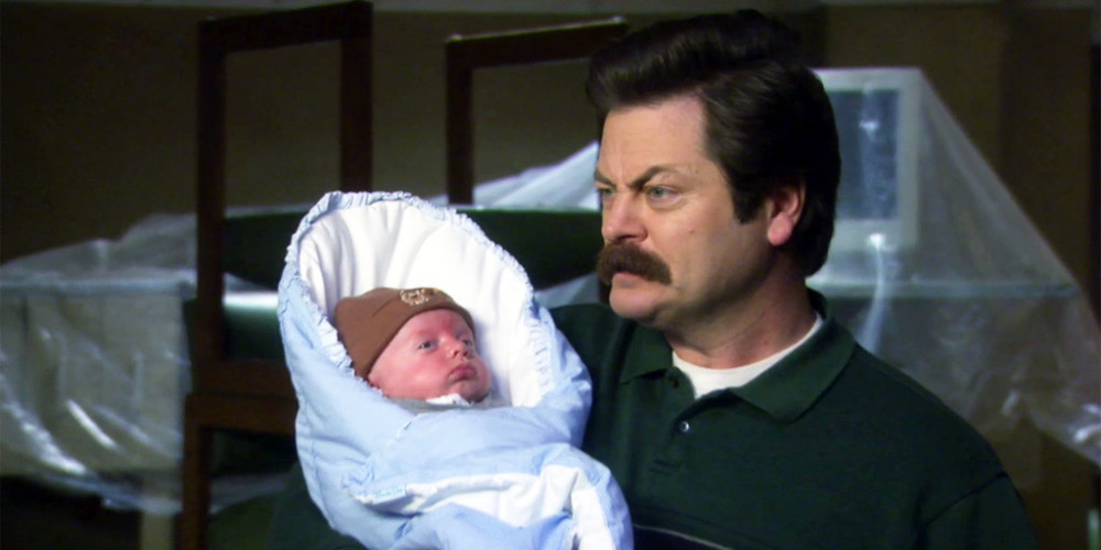 The best day Ron Swanson ever spent in a government building