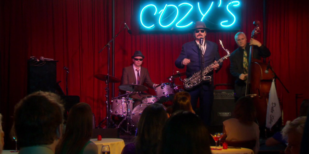 Duke Silver playing jazz at Cozy's picture1