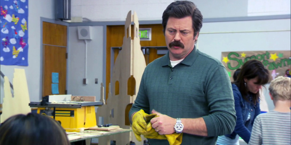 Ron Swanson thinks Donna has the wrong idea about her ex and offers up some advice