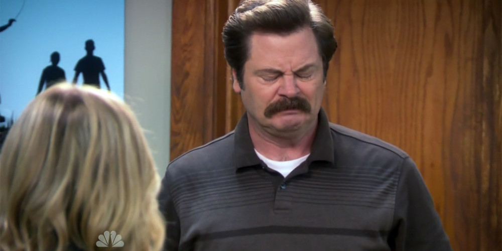Ron Swanson's claymore mine was a toy filled with balloons and confetti picture2