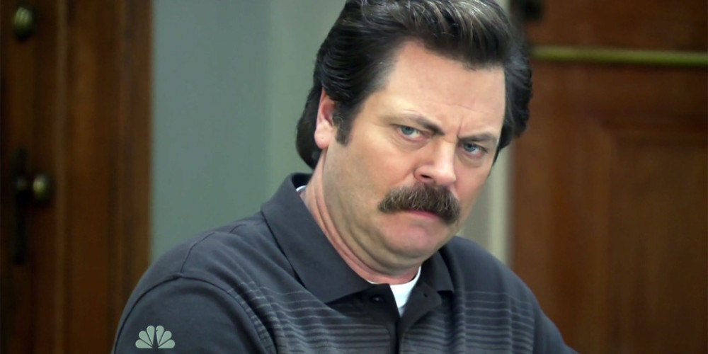 Ron Swanson We Didn't Start the Fire picture2