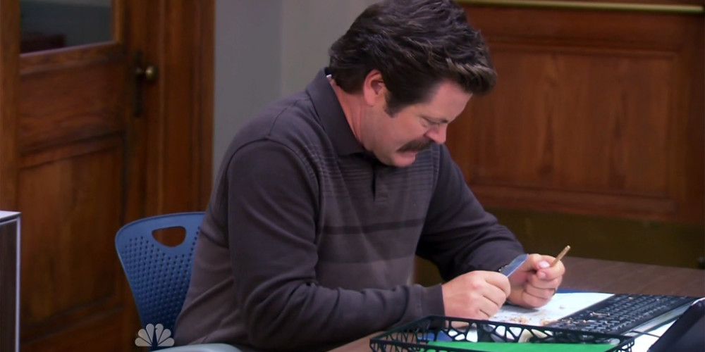 Ron Swanson We Didn't Start the Fire picture9