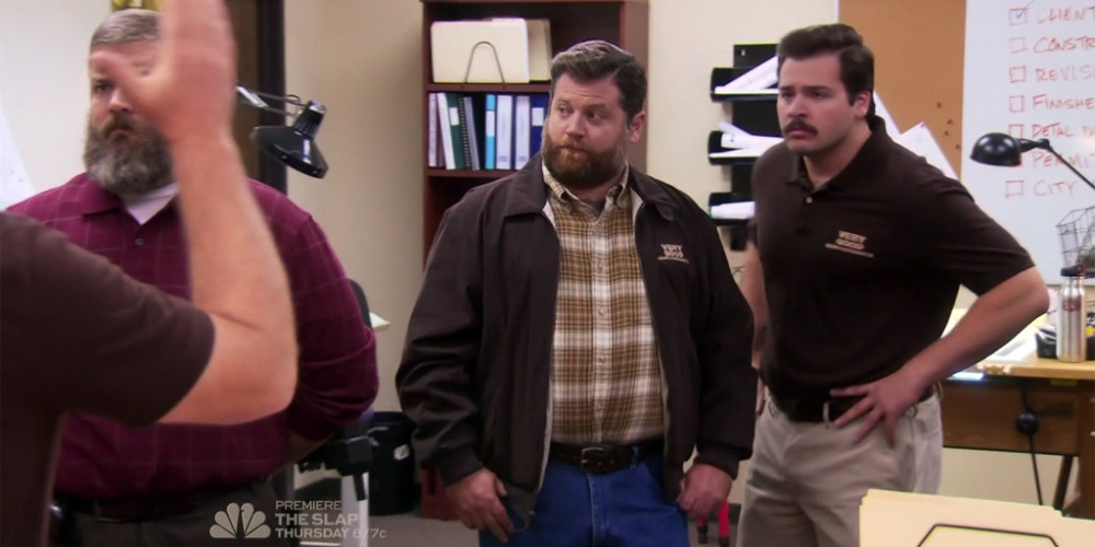 Ron Swanson and his brothers (Don, Lon, and Vaughn) picture4