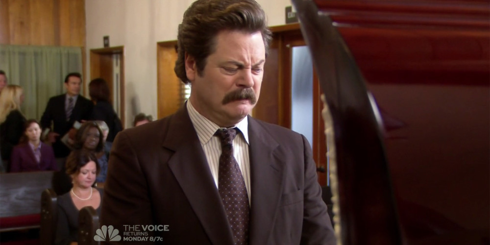 Ron Swanson does not believe in tipping picture1