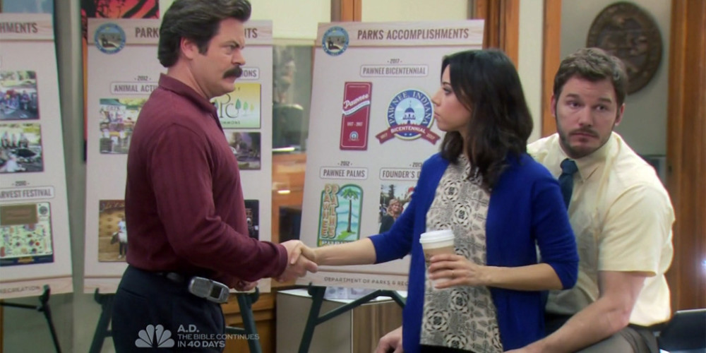 Ron Swanson is all for that