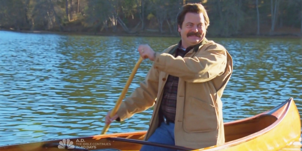 Ron Swanson Goes Canoeing picture6