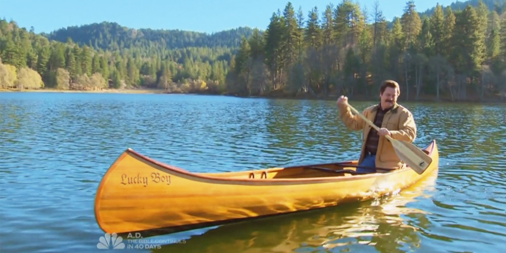 Ron Swanson Goes Canoeing picture7